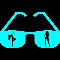 heisse sonnenbrille