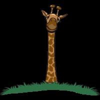 Giraffe witzig 0c