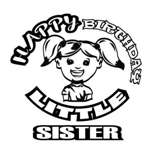 Geburtstags T-Shirt Schwester Geschenk