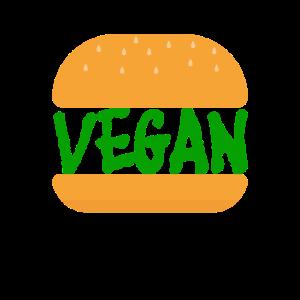 Vegan Burger Motiv