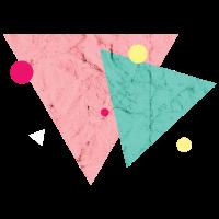 Geometrisch Formen 90er Dreieck Symbol Abstrakt
