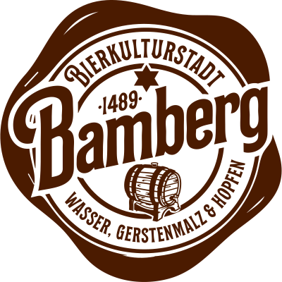 Bamberg Bierstadt Siegel - Bamberg Bierstadt Siegel - Wasser,Reinheitsgebot,Kultur,Hopfen,Gerstenmalz,Bierstadt,Bier,Beer,Bamberger,Bamberg