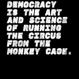 demokratie weisheit affen politik