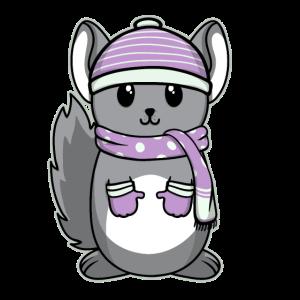 Süßes Tier Baby Chinchilla