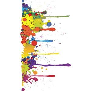 Klecks Malerei / Splat Painting