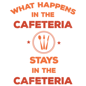 Was passiert in den Cafeteria-Aufenthalten in der Cafeteria