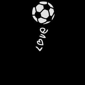 Fußball Fußball künstlerischen Charakter smiley1