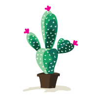 Niedlicher Kaktus-Entwurf - lustiges Kaktus-Hemd