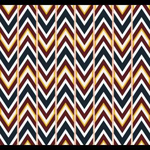 Skandinavisches Muster Optische Täuschung