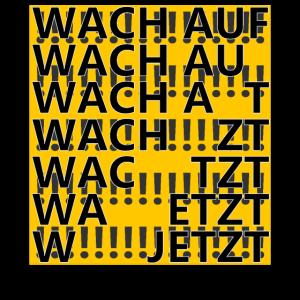 wachauf.jetzt | Block - yellow