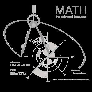 Math universal language pi