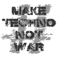 #maketechnonotwar