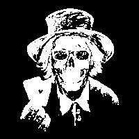 Poker Zwei Asse Totekopf Skelett