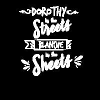 Dorothy in den Blättern Blance in the Sheets