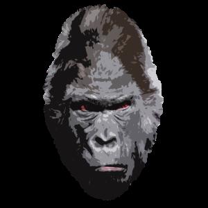 Gorilla Shirt böser Blick