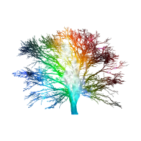 Galaxy Baum Space Surreal