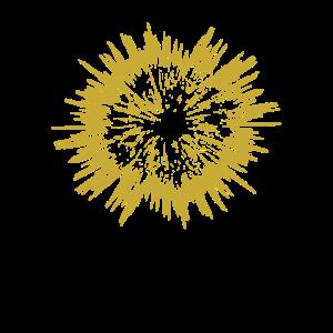 abstrakt Stern gold