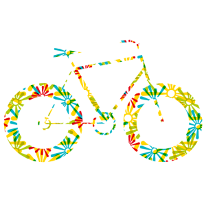 Flower Power Fahrrad
