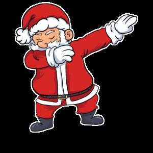 Weihnachtsmann Weihnachten Lustig Dabbing Geschenk