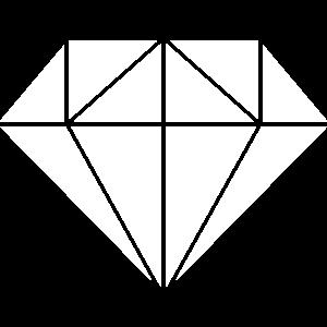 Diamond in weiss