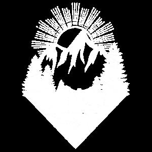 Berge Wintersport Shirt Geschenk climbing