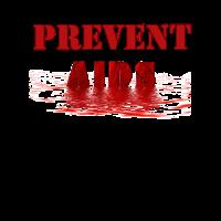 Verhindern Sie AIDS HIV-Bewusstsein