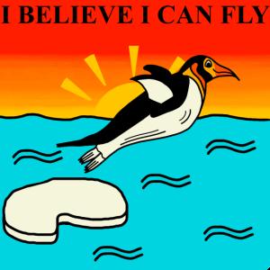 Pinguin Fliegen Lustige Sprüche