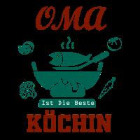 Oma Shirt • Beste Köchin • Essen Geschenk