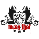 Muay Thai Tiger Logo