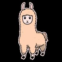 Tierkind Lama Alpaka Niedlich Süß Geschenk