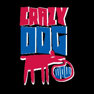 Verrueckter Hund