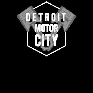 Detroit Motor City Heimatabzeichen Stolz