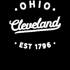 Weinlese-klassische Retro Cleveland Ohio-Stolz-Neuheit