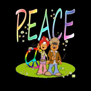 Peace für alle Hippies