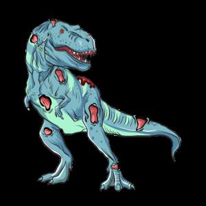 Undead T-Rex Halloween