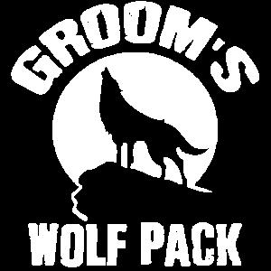 Grooms Wolf Pack Wedding Gift