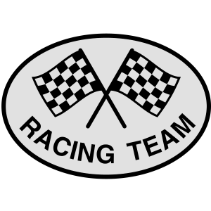 Racing Team, Zielflagge