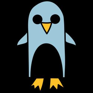 Pinguin Zeichnung Geschenk Comic