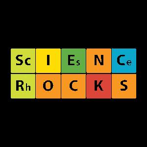 Wissenschaft begeistert Science Rocks Geschenk