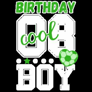 8. Geburtstag Nummer Birthday Boy