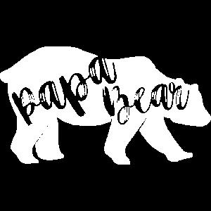 Papa Bear - für Eltern-Baby-Partnerlook