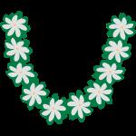 collier couronne tiare tahiti