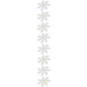 tiare tahiti vertical flowers