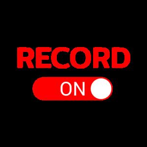 Record On Tontechnik Geschenk Audio Tonstudio