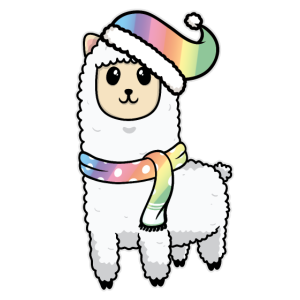 Süßes Tier Baby Lama