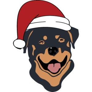 Weihnachtsmann Rottweiler