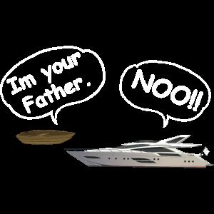 Boot fahren Geschenk