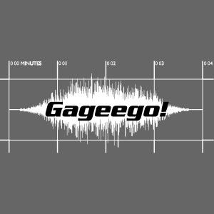 Gageego-logga mörk text