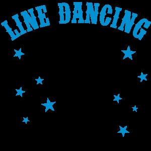 LINE DANCING, LINE DANCE HUT UND STIEFEL
