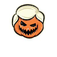 Halloween Trumpkin machen Halloween großen Trumpf
